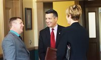 Sandoval, school superintendents discuss arming teachers and more at capital gathering