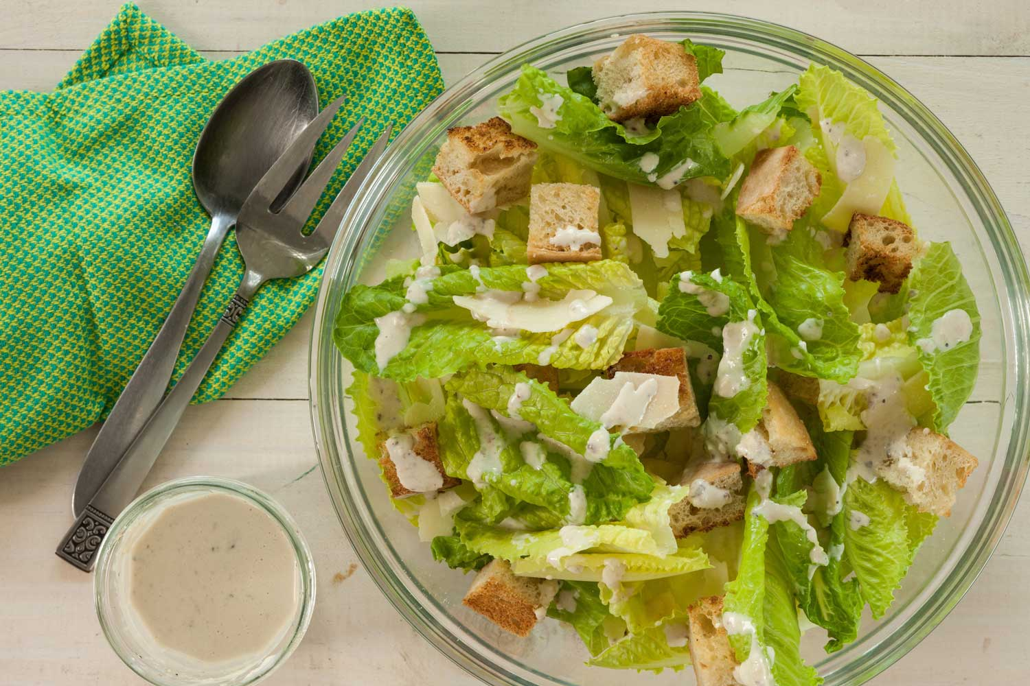 SALAD DAYS: Cool down with a classic Caesar