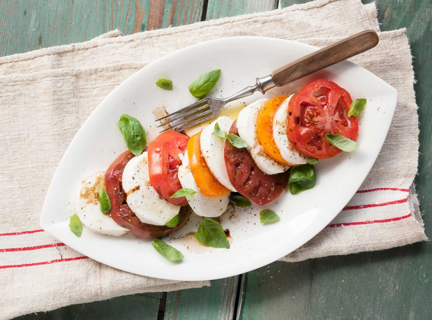 SALAD DAYS: Caprese perfect for summer evenings