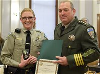 Deputy saves 72-year-old woman in fire