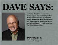 DAVE SAYS: Giving wisely