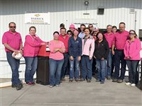 Turquoise Ridge Mine goes pink for breast cancer awareness