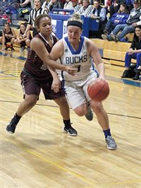 Lady Bucks cruise to win in Northern 3A opener